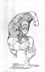 Captain America by EdMcGuinness
