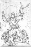 Deadpool 2 variant cover by EdMcGuinness