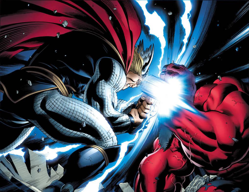 Thor Smash by EdMcGuinness