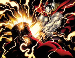 Thor smash more by EdMcGuinness