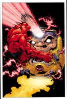 Hulk 21 cover by EdMcGuinness