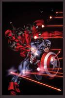 Cap and Deadpool by EdMcGuinness