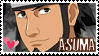 Asuma Fan Stamp by Okami-Rayne