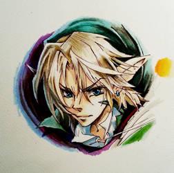 The Legend of Zelda -Link- Fan art by Darthandart
