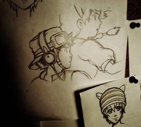 Ghibli fan art by Darthandart