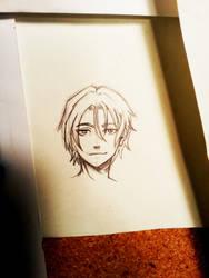 Rin Free draw by Darthandart