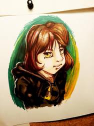 Caricatura Manga by Darthandart