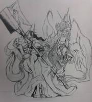 As Black Divine Gods by forgemaster18