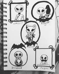 Inktober 2016 #12  by DarkmatterNova