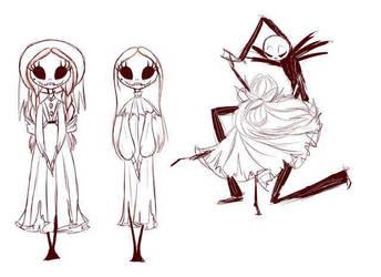 Skelly outfits  by DarkmatterNova