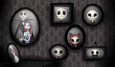 The skellingtons  by DarkmatterNova