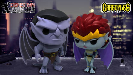 Disney Funko Pop Gargoyles by TombRaiderCollector