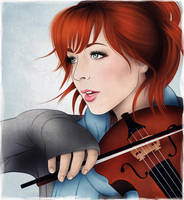 Lindsey Stirling by By-Inna
