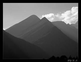 3 pyramids by skogmesteren
