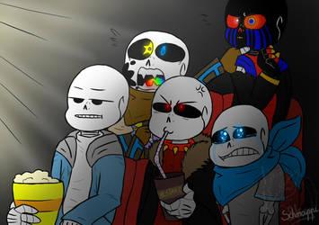 Draw My Squad #1 (Undertale) by SchnappiSKY