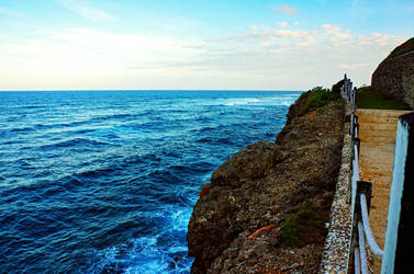 Pathway Along the Coast by byfrankiec