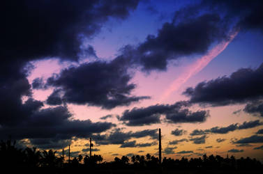 On a Cloudy Evening by byfrankiec