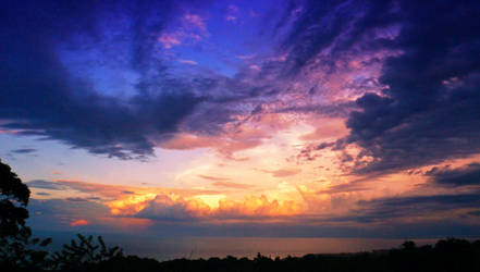 Clouds at Sunset by byfrankiec