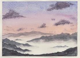 sea of clouds by MASAMI-YOSHIAKI