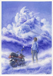 overflow clouds by MASAMI-YOSHIAKI
