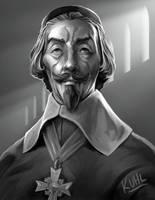 Cardinal Richelieu by chriskuhlmann