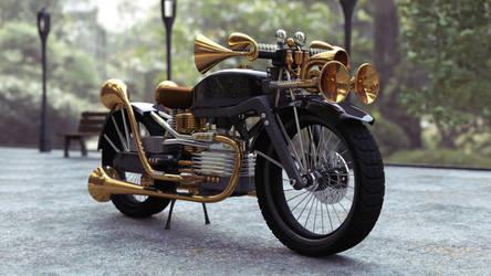 brass bike by frequenzlos