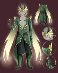 CE: Green Menswear Design by Klimene