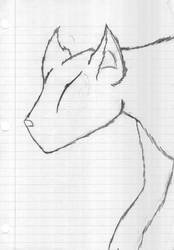 a wolf by Assana73