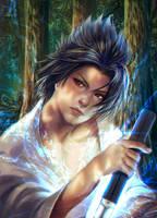 Sasuke by Shilozart