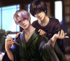 Viktor and Yuri by Shilozart