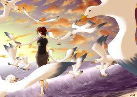 PN: seagull, my precious by graymuffler