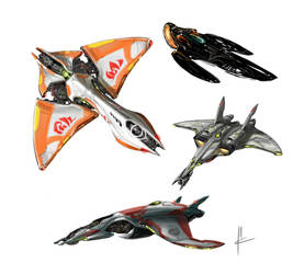 plane concepts by TheBeke