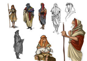 character designs by TheBeke