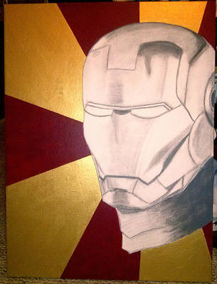 Iron Man WIP by geekypnai