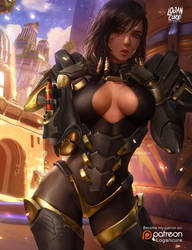 Pharah alt by logancure