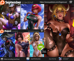September Patreon content (Term 19) by logancure