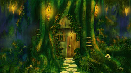 Welcome To The House Of The Woodland Creature by jiasen