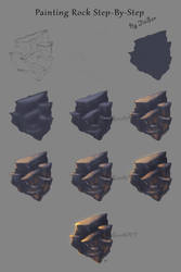 Rock Painting Tutorial by jiasen