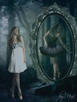 Black and White by BloodyMary-NINA
