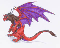 Red Drat Aqwers by Scatha-the-Worm