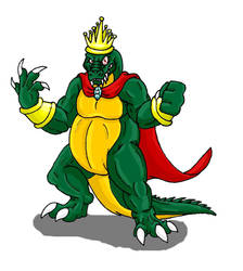 King K. Rool by Scatha-the-Worm