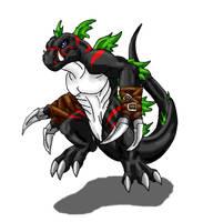 DarkTyrannomon by Scatha-the-Worm