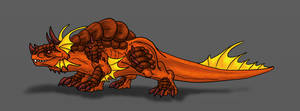 Verden-Rumble Drake by Scatha-the-Worm