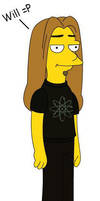 Simpson-ized Will by Wingless-Butterfly55