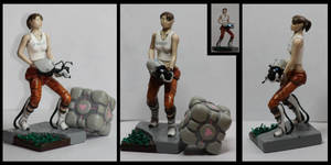 Portal Chell miniature by CaptainWilder