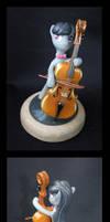 MLP:FIM Octavia miniature by CaptainWilder