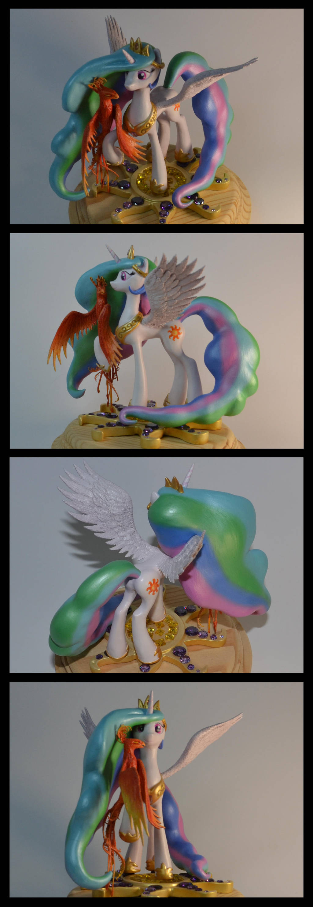 MLP:FIM Celestia sculpture by CaptainWilder