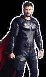 Infinity War - Thor (2) by sidewinder16