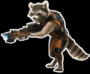 Guardians Vol.1 - Rocket Raccoon (1) by sidewinder16