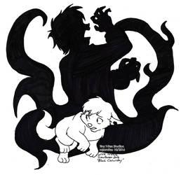 Black Caturday by rajamitsu